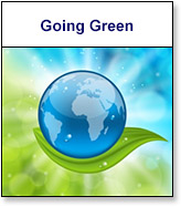 Commerce Department Going Green
