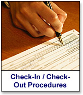 State Department Check-In / Check-Out Procedures